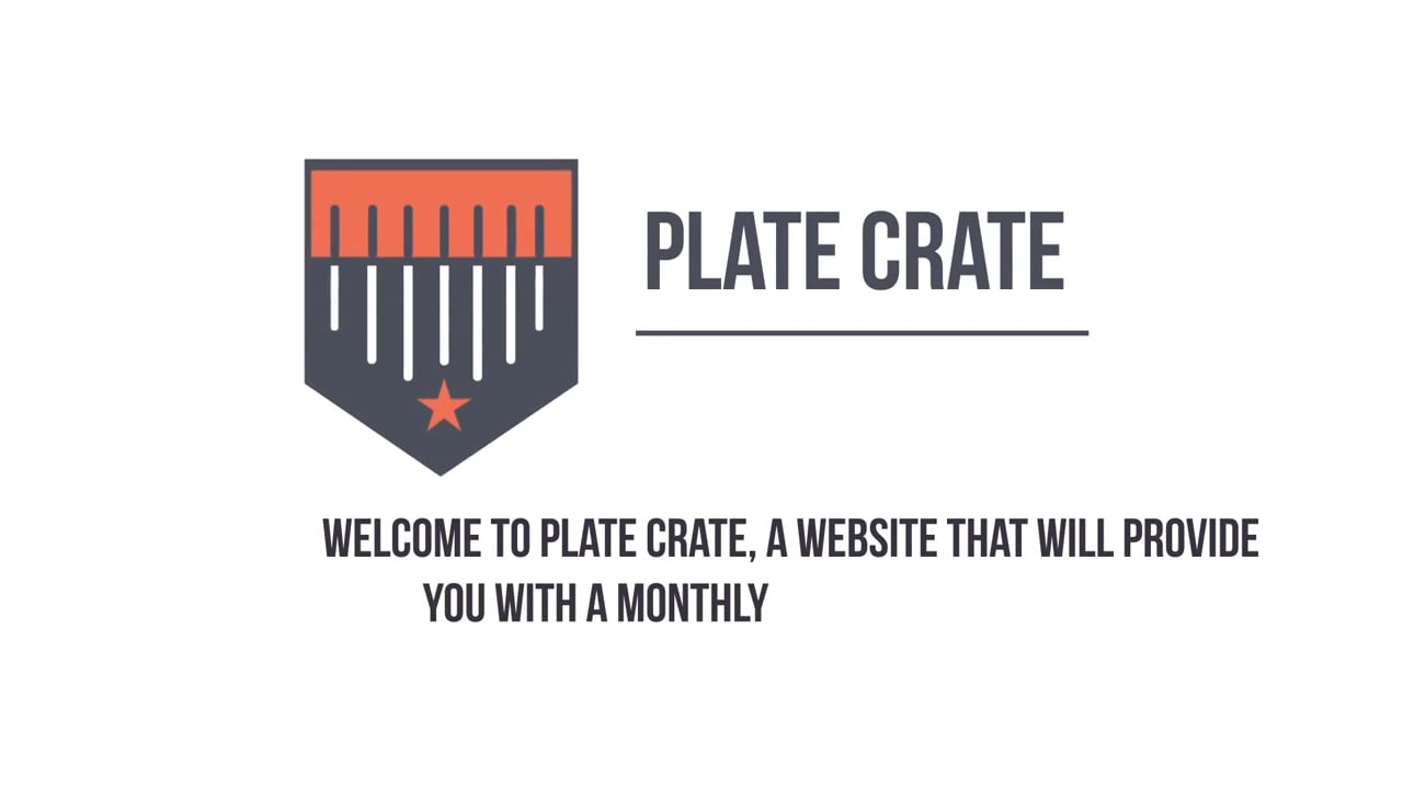 Plate Crate -app promotion video port